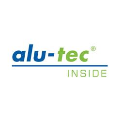 Logo für die alu-tec Technologie von Atlas