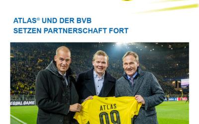 ATLAS und der BVB setzen Partnerschaft fort!