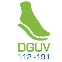 Logo für die Einlagenversorgung DGUV 112-191