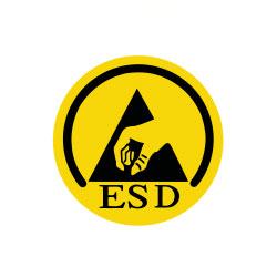 Logo für ESD Schuhe von Atlas